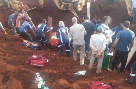 Quatro trabalhadores morrem soterrados em Marilândia do Sul