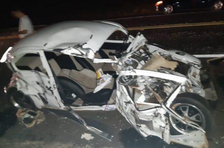 Motorista de deputado morre em acidente na BR-376, em Paranavaí