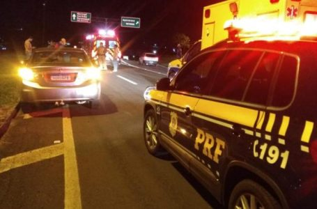 Jovem morre após ser atropelado na BR-369 em Apucarana
