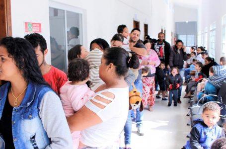 """Sábado tem dia """"D"""" da vacinação contra o sarampo para crianças de seis meses a menores de 5 anos"""