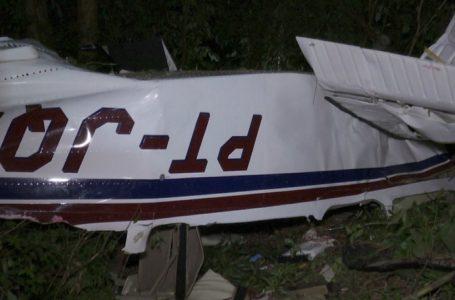 Três mortos na queda de um avião de pequeno porte em Cascavel