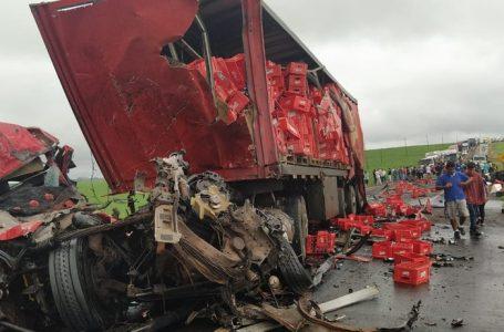 Grave acidente na PR-323, em Sertaneja