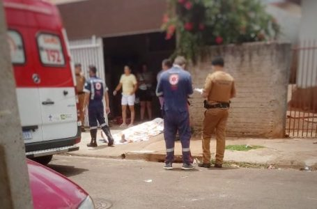 Homicido ocorrido no Jardim Araucária em Arapongas