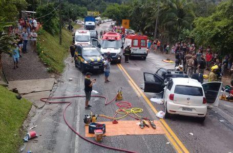 Família do Paraná sofre acidente em SC; Irmãs de 4 e 9 anos morreram