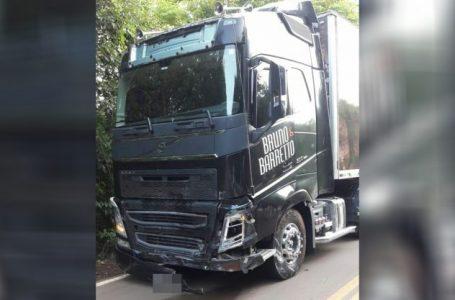 Caminhão da dupla Bruno e Barreto se envolve em acidente com vítima fatal em SC