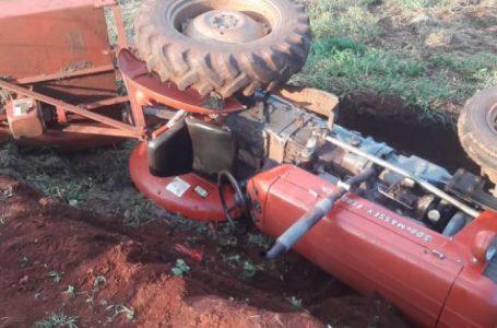 Trator tomba e mata trabalhador em Apucarana