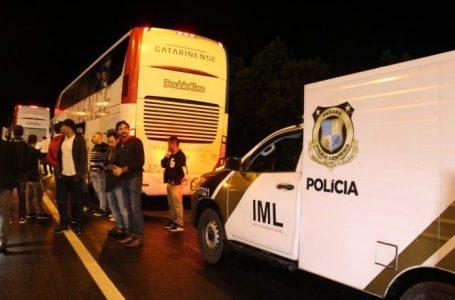 Três mortos em assalto a ônibus em Campina Grande do Sul