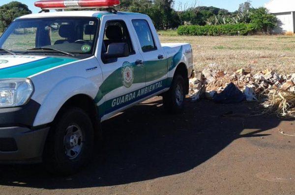 Meio Ambiente – Empresa de Arapongas é multada em mais de R$25 mil