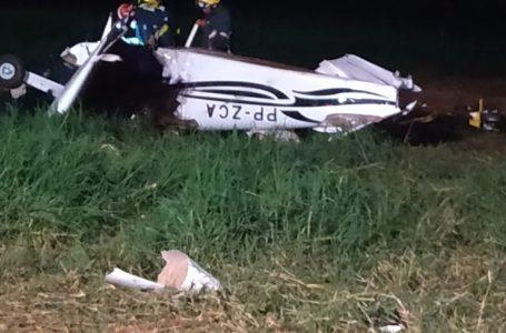 Vítimas fatais de queda de avião são Ivan Rossoni e Luciane G. Gasparin