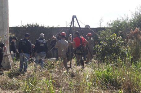Corpo de Maria Helena foi retirada de poço por Bombeiros de Apucarana