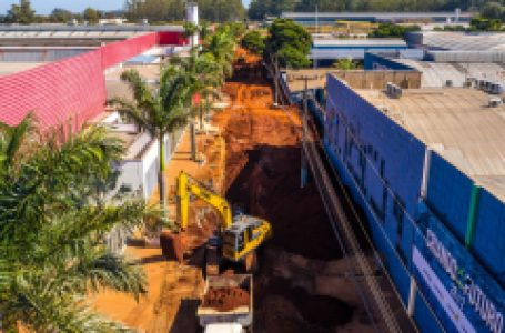 Parceria permite investir em galeria e pavimento na área industrial