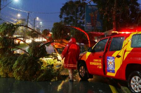 Novo ciclone pode atingir o Paraná, com ventos de até 80 km/h.