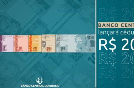 Banco Central anuncia que lançará cédula de R$ 200,00