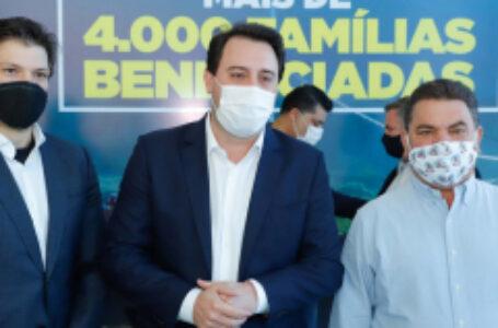 Governo anuncia a construção de 4.163 casas; 1.479 são para Arapongas