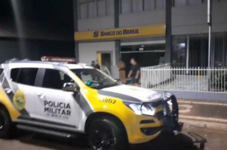 Bandidos explodem e roubam agência do banco do Brasil em Bela Vista do Paraíso