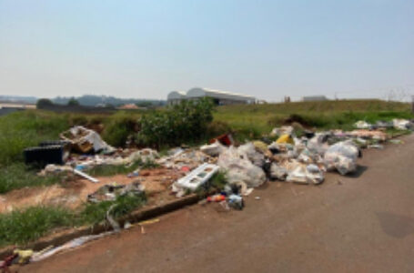 Prefeitura de Arapongas e SIMA alertam para descarte irregular de resíduos industriais