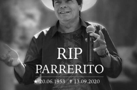Morre o Cantor Parrerito do Trio Parada Dura