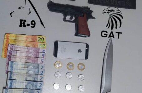 Em Arapongas, adolescentes são apreendidos após assalto