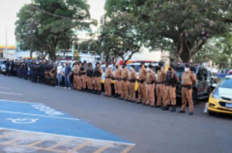 Guarda Municipal e Policia Militar lançam Operação Natal 2020 em Arapongas