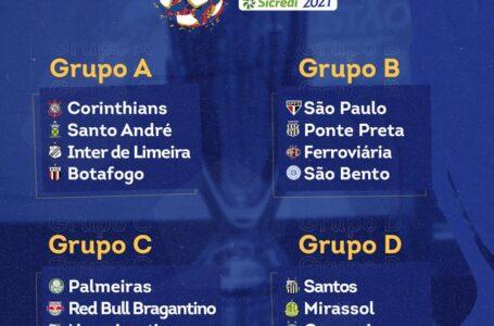 CAMPEONATO PAULISTA começa dia 28 de Fevereiro; veja a estreia do seu time