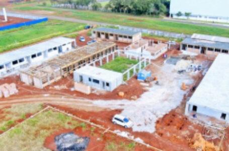 Construções das Escolas do Caravelle e Jardim Paulista em Arapongas se aproximam dos 30% de execução