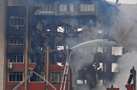 Detran do RS registra perda de 95 mil processos após incêndio em prédio da SSP