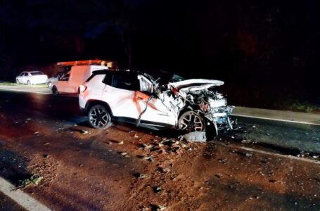 Grave acidente entre caminhão e carros deixa mortos no Contorno Sul de Rolândia