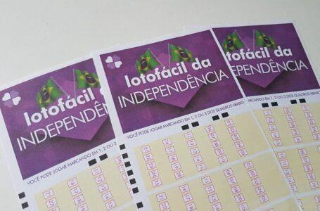 O premio da Lotofácil da Independência foi dividido entre 57 acertadores; Cinco são do Paraná
