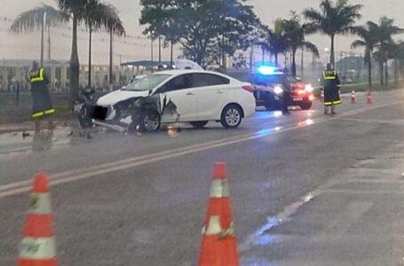 Acidente na BR 369 deixa uma mulher morta e outra ferida gravemente