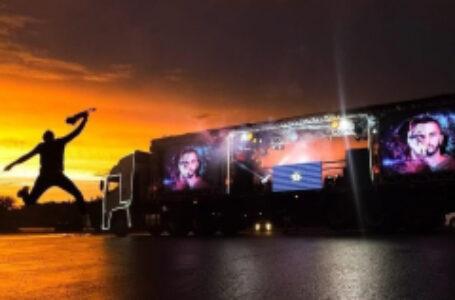 Carreta Show inicia festividades do Aniversário de Arapongas